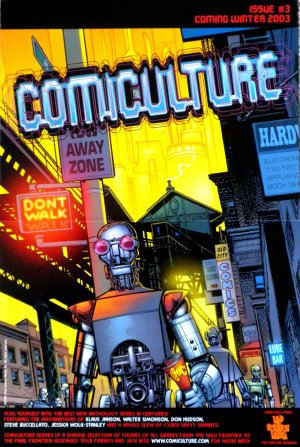 Comiculture Issue #3 Promo Poster - Klaus Janson 2003