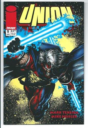 Union Issue #1 - Mark Texeira Sam Keith Image Comics 1993