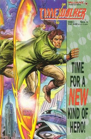 Time Walker Issue #1 - Don Perlin Valiant Comics 1994