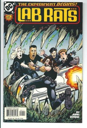 Lab Rats Issue #1 - John Byrne  DC Comics 2002