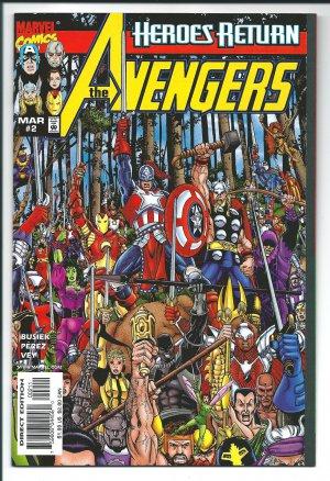 The Avengers Issue #2 - Kurt Busiek Marvel Comics 1998