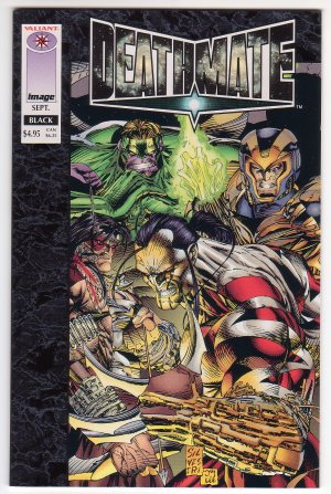 Deathmate Black Issue #1 - Jim Lee Marc Silvestri Image Comics 1993