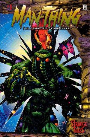 JM DeMatteis & Liam Sharp ManThing Comic Book Set #1-5 - Marvel Comics 1997