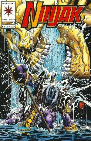 Ninjak Issue #2 - Joe Quesada  Valiant Comics 1994