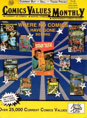 Comics Value Monthly #66 Star Trek Cover - 1992