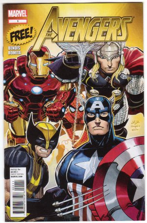 The Avengers Sampler Promo Issue #1 - Brian Bendis John Romita JR Marvel Comics 2012