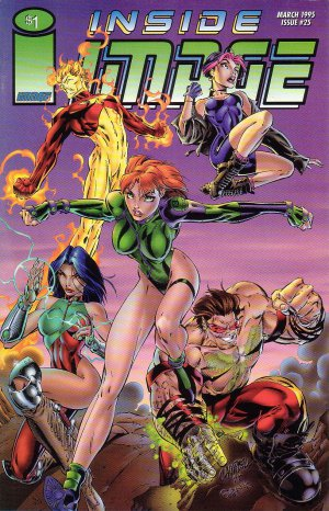 Inside Image Issue #25 - Gen 13 Rob Liefeld Image Comics 1993