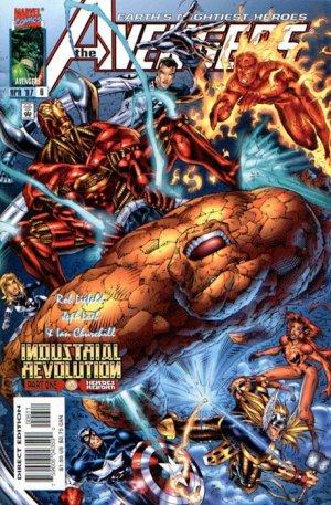 The Avengers Issue #6 - Jeph Loeb Rob Liefeld Marvel Comics 1998