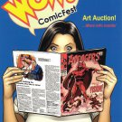 Big Wow Comicfest Comics Convention Program - Frank Cho 2012
