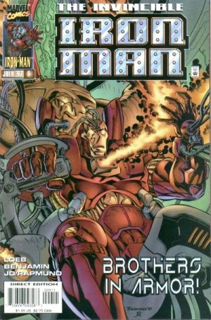 Iron Man Issue #9 - Jeph Loeb Marvel Comics 1997