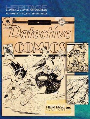 Heritage Comic Books & Original Art Catalog 7039 Nov 2011 Crumb Wrightson Kirby