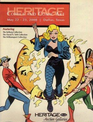 Heritage Comic Books Original Art Catalog 828 May 2008 Gil Kane Jeff Jones Kirby