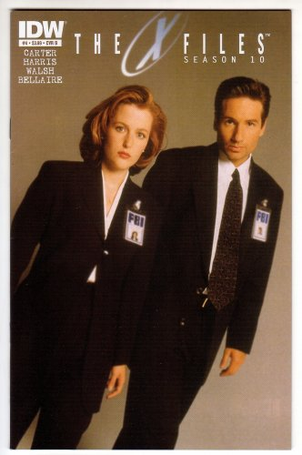 X Files Season 10 Issue #4 Variant Photo Cover - IDW 2013