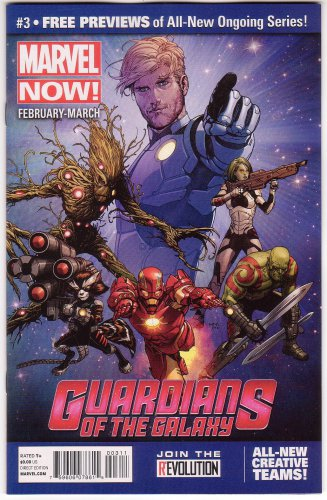 Marvel Now Issue #3 Promo Comic Book Guardians of Galaxy Brian Bendis McNiven