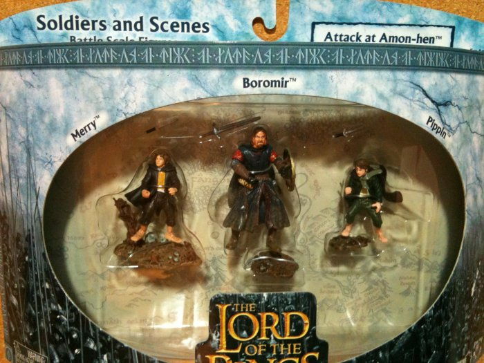 Lord of the Rings Soldiers and Scenes - Attack at Amon-hen