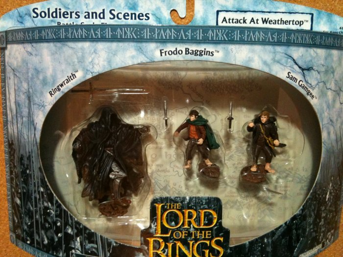Lord of the Rings Soldiers and Scenes - Attack at Weathertop
