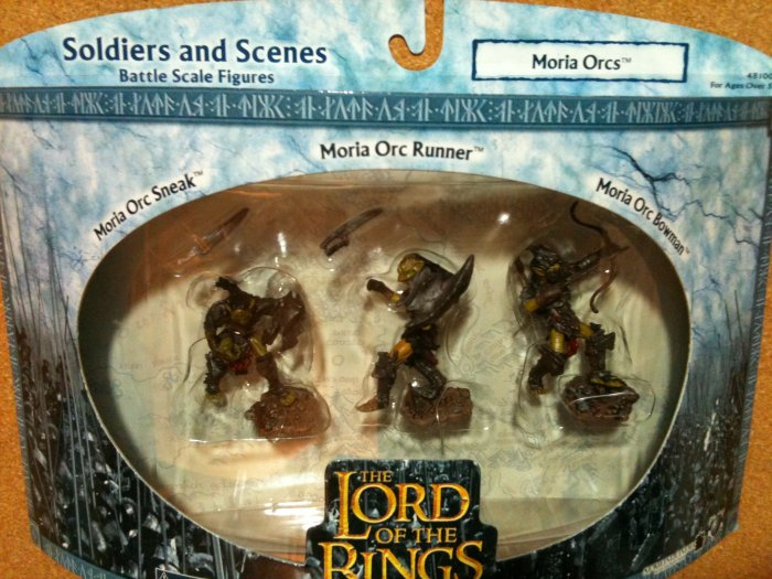Lord of the Rings Soldiers and Scenes - Moria Orcs