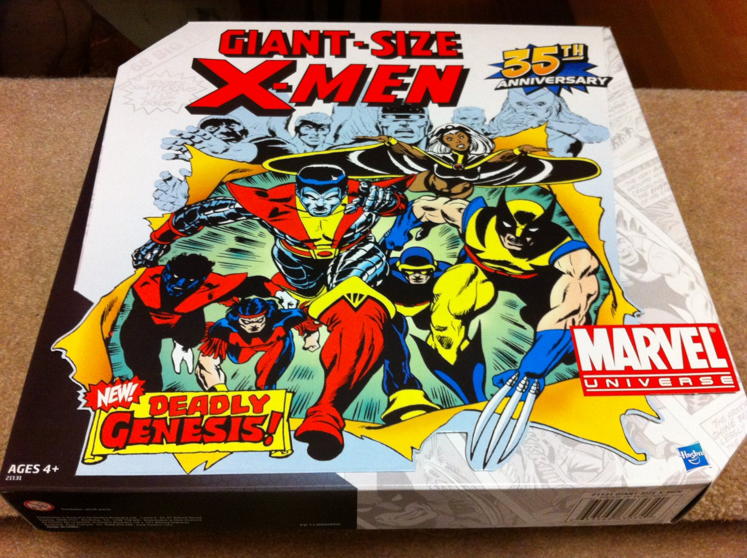 Marvel Universe Giant-Size X-Men 35th Anniv TRU Exclusive