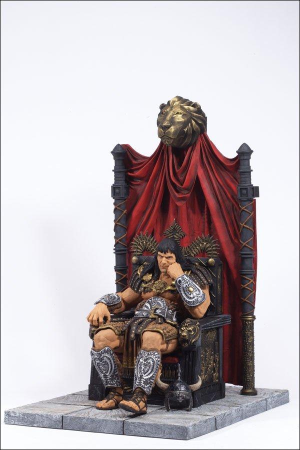 King Conan of Aquilonia (McFarlane deluxe boxed set)