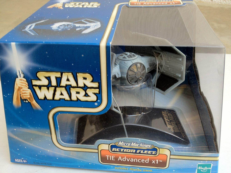Star Wars MicroMachines Action Fleet TIE Advanced x1
