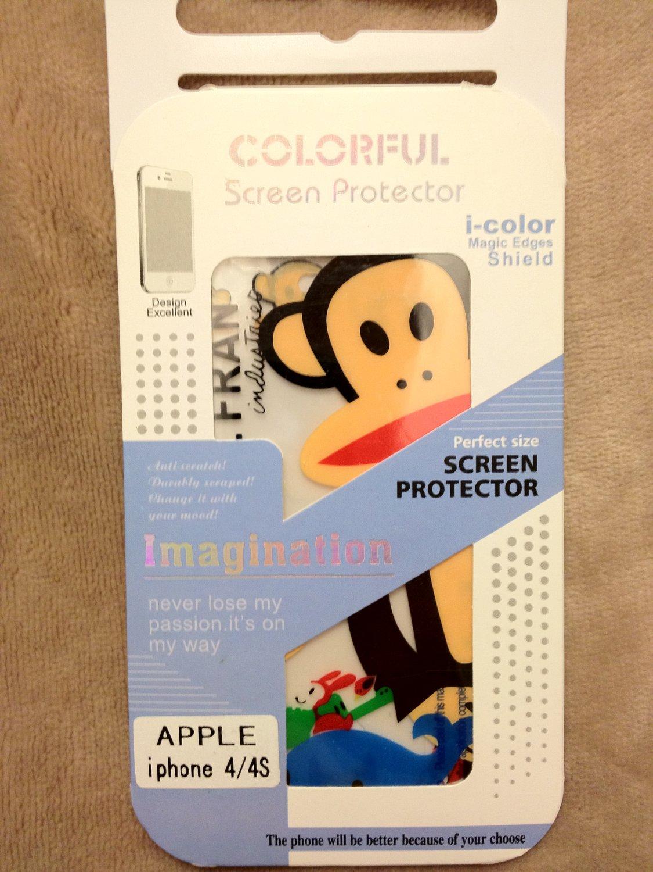 iPhone 4/4s i-color magic edges shield (Paul Frank)