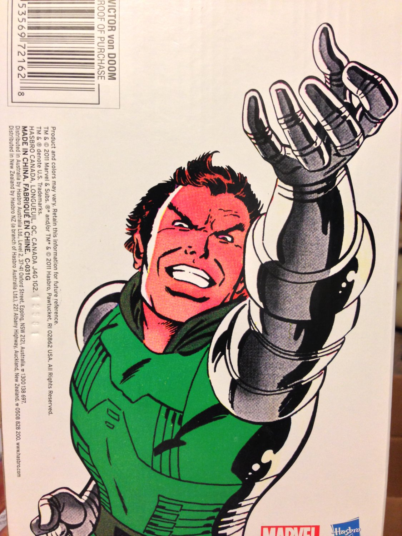 Marvel Universe Victor Von Doom - Marvel Comics Digital Subscription exclusive