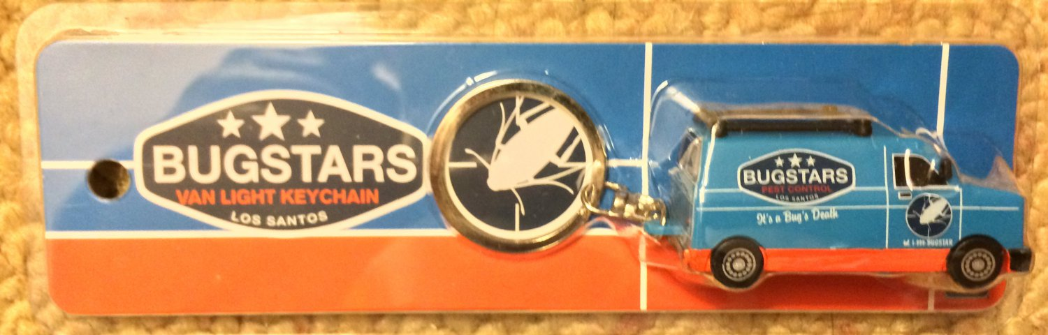 E3 2014 Grand Theft Auto V Bugstars van light keychain