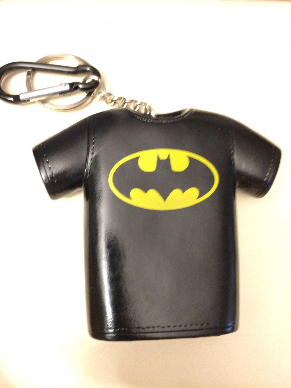 E3 2014 Batman Shirt Coin Purse Keychain - very rare