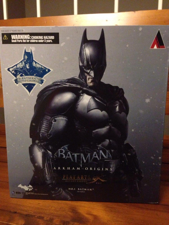 SDCC 2014 Square Enix Exclusive Batman Arkham Origins Play Arts - Kai - Limited Color version