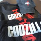 SDCC 2014 Godzilla Swag Bag with hat and T-shirt
