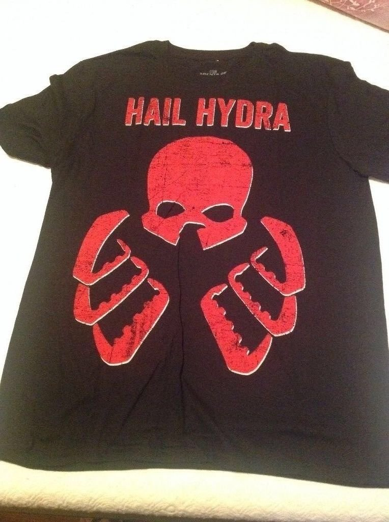 SDCC 2014 Marvel Exclusive Hail Hydra T-Shirt - RARE