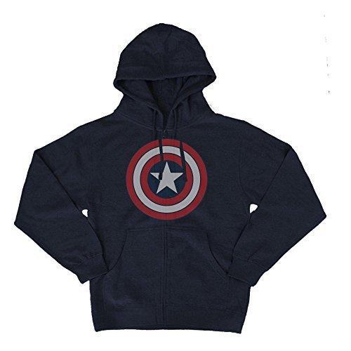 Mighty Fine Captain America Hoodie