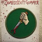 SDCC 2015 Exclusive Scouts Guide to the Zombie Apocalypse Zombie Butt Gummer Patch