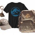 Team Jurassic World Prize Pack:  Backpack, cap, keychain, shirt