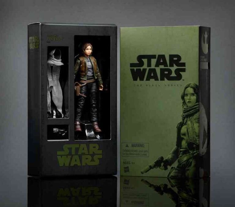 SDCC 2016 Hasbro Exclusive Star Wars Black Series: Rogue One, Jyn Erso figure