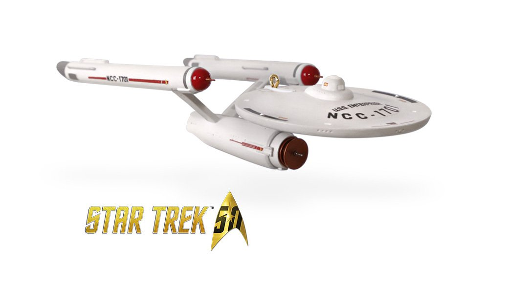 SDCC 2016 Hallmark Exclusive Enterprise Keepsake Ornament