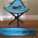 "SDCC 2016 Exclusive MTV Teen Wolf tripod folding chair 18"" w bag"