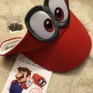 E3 2017 - Nintendo Super Mario Odyssey Visor and Pin