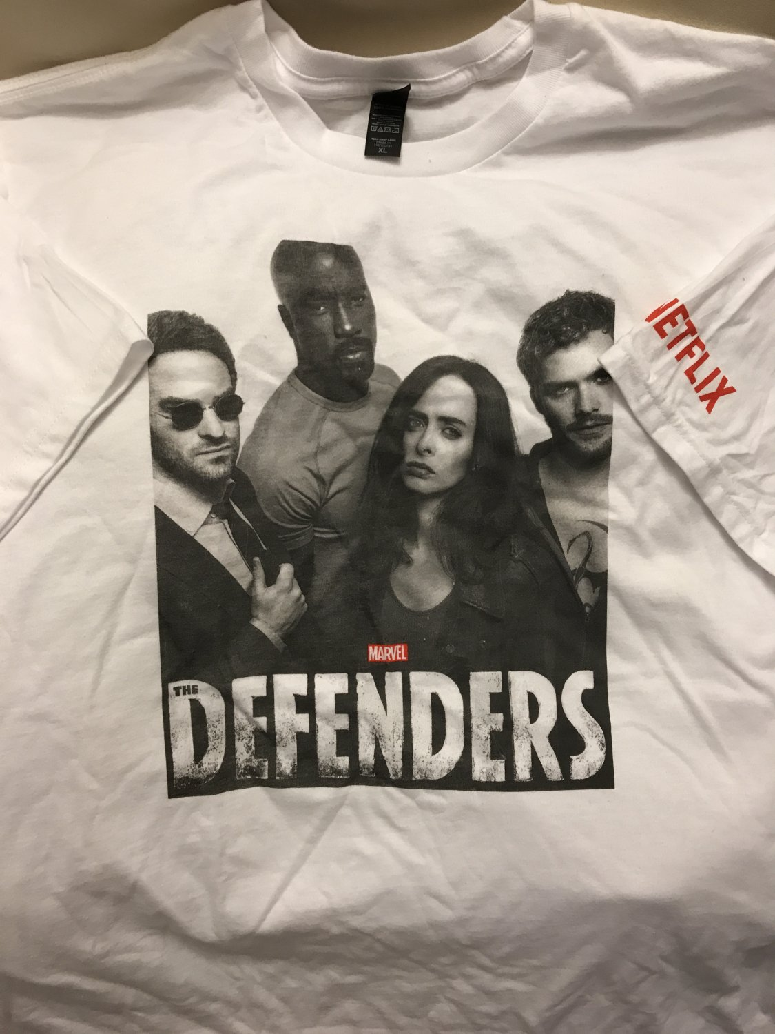SDCC 2017 Netflix Defenders T-shirt