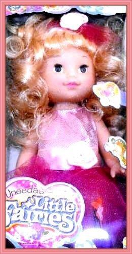 "Collectible"" Uneeda little Fairies Princess Doll NIB"