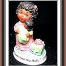 """AVON Tender Memories """"God Bless my Dolly"""" Porcelain NIB"""