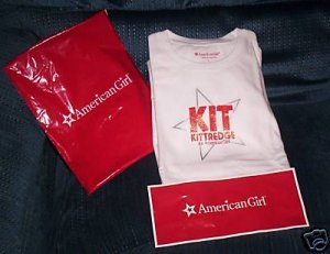 Kit Kittredge an American Girl limited edition movie t-shirt  NEW Large