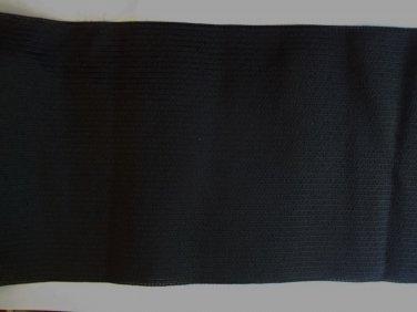 BLACK Elastic 6-5/8 inch BLACK ELASTIC Waistband Belt Corset By The Yard NEW