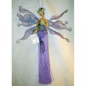 Twelve Inch Hanging Tassel Duck House Doll Fairy New