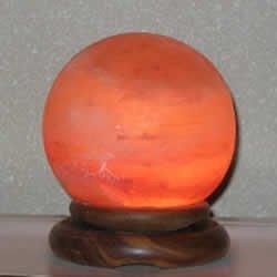 Salt Rock Lamp Extra Large : Globe Salt Lamp (Extra Large)