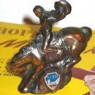 Copper Cowboy Reno Souvenir Item~Bucking Bronco Figurine
