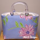 Mimi Handbag in Blue Floral