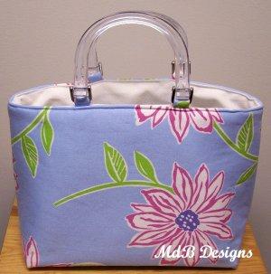 Mimi Handbag in Blue Floral