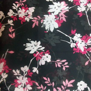 Sheer Floral Fabric