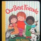 Our Best Friends Gyo Fujikawa Board Book Puppies Kitten